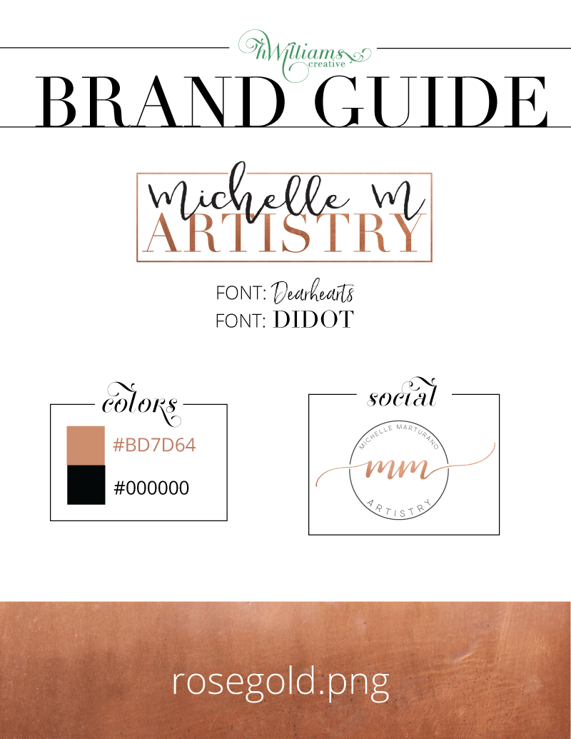 Brand Guide - Salon Logo